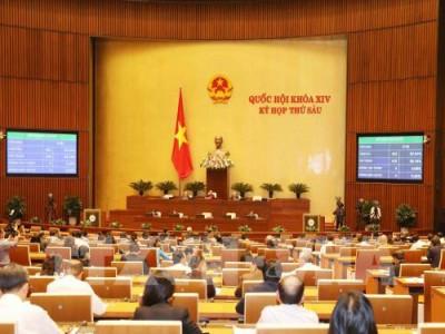 Quốc hội quyết nghị điều chỉnh mức lương cơ sở từ ngày 1/7/2019