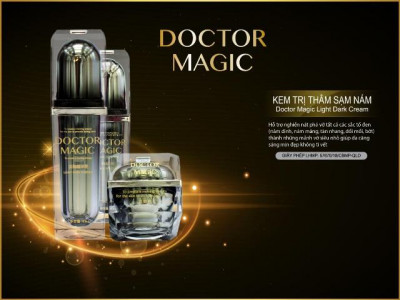 Mỹ phẩm Doctor Magic: Kem trị thâm sạm nám và tàn nhang