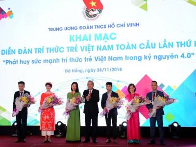 Đà Nẵng: Khai mạc Diễn đàn Trí thức trẻ Việt Nam toàn cầu lần thứ I, năm 2018