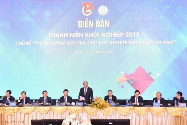 Chính phủ sẽ quyết tâm, tạo mọi điều kiện để hệ sinh thái khởi nghiệp Việt Nam lớn mạnh