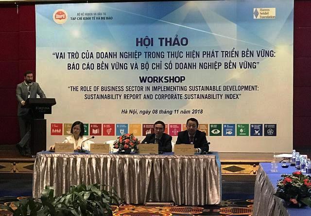 Nhiều doanh nghiệp Việt Nam vẫn thờ ơ với mục tiêu phát triển bền vững