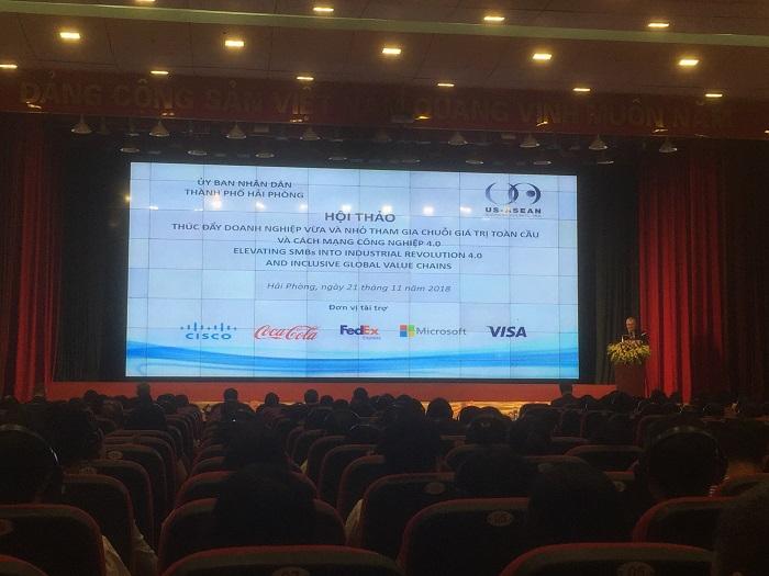 Hải Phòng: Hội thảo hỗ trợ DNVVN tham gia chuỗi giá trị toàn cầu và cách mạng 4.0
