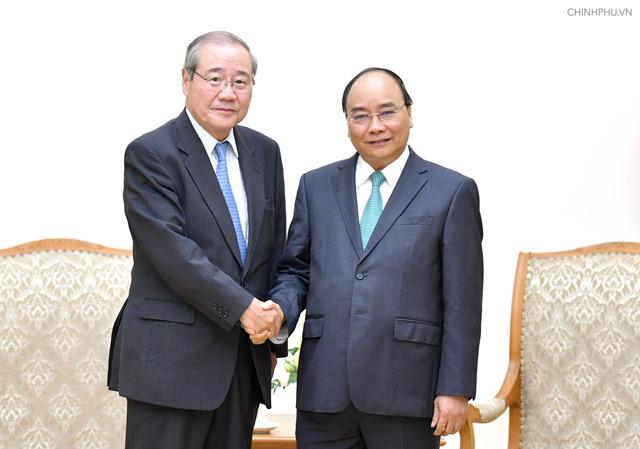 Thủ tướng tiếp lãnh đạo doanh nghiệp Nhật Bản