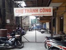Chợ Thành Công: Khói than bủa vây hàng trăm hộ dân
