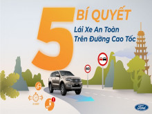 Ford Việt Nam: Chia sẻ kỹ năng lái xe an toàn trên đường cao tốc