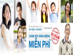 Nha khoa Kim: Khám răng được tặng gói chăm sóc miễn phí 1 năm