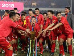 ĐT Việt Nam kết thúc năm 2018 ở vị trí số 1 Đông Nam Á