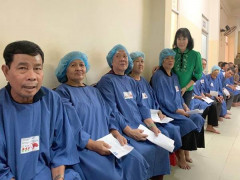 Hơn 250 bệnh nhân nghèo đục thủy tinh thể được điều trị miễn phí