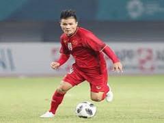 Tiền vệ Nguyễn Quang Hải - Quả bóng vàng Việt Nam 2018