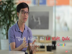 """""""Quái kiệt"""" AI Lê Viết Quốc – người Việt trầm lắng ở Google"""