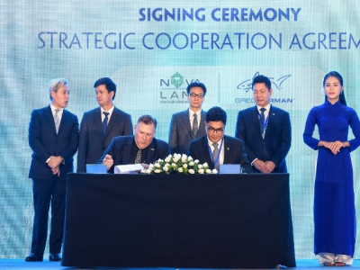 Novaland ký kết hợp tác chiến lược với 2 đối tác mang tầm Quốc tế