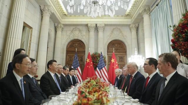 """Mỹ - Trung thỏa thuận """"ngừng bắn"""" chiến tranh thương mại"""
