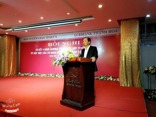 Đẩy mạnh tuyên truyền về các chính sách tín dụng của Agribank Thanh Hóa