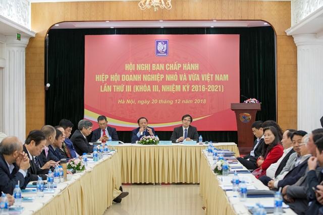 Kế hoạch thực hiện nhiệm vụ trọng tâm năm 2019 của Hiệp hội DNNVV Việt Nam
