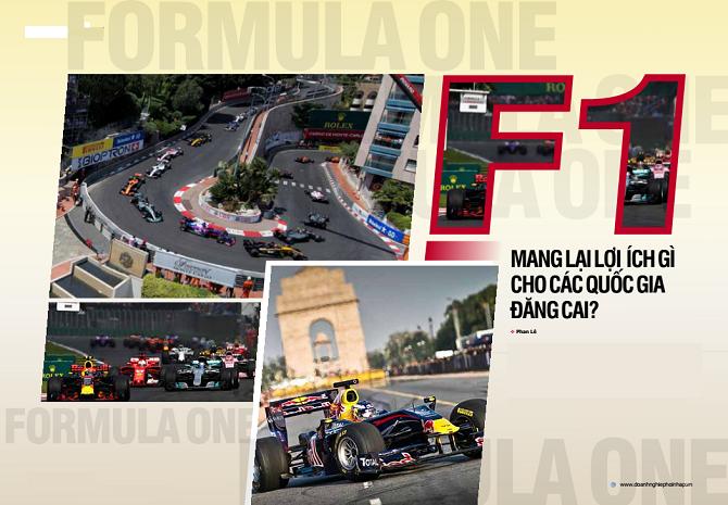 F1 mang lại lợi ích gì cho các quốc gia đăng cai