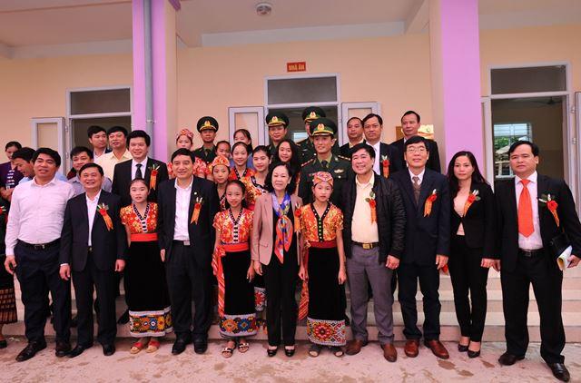 Hỗ trợ phát triển toàn diện cho trẻ em tộc người Đan Lai