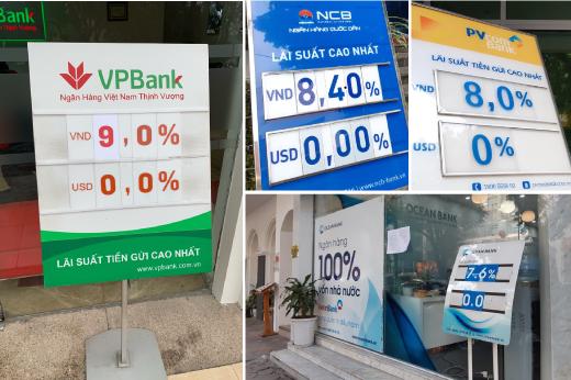 """""""Chưa có ngân hàng phá sản, người dân cứ chọn ngân hàng có lãi suất cao mà gửi"""""""