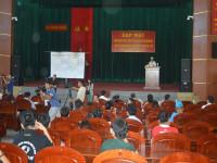 Họp mặt đoàn công tác Dân - Quân - Chính - Đảng các tỉnh thành, thăm chúc tết CBCS Nhà giàn DK1