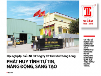 Hội nghị đại biểu NLĐ Công ty CP Kim khí Thăng Long: Phát huy tính chủ động, sáng tạo, đổi mới