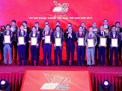 Đất Xanh xuất sắc vào top 10 doanh nhiệp tư nhân lớn nhất Việt Nam  trong lĩnh vực BĐS năm 2018