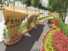 Hội chợ hoa xuân Phú Mỹ Hưng tết Kỷ Hợi 2019 với chủ đề: Hoa và cuộc sống