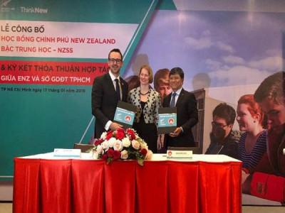 Học bổng trung học chính phủ New Zealand lần đầu tiên dành cho Việt Nam