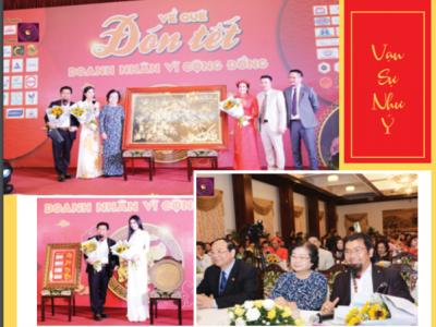 Doanh nhân Nguyễn Hoàng Sang tham gia đấu giá gây Quỹ từ thiện vì Hoàng Sa và Trường Sa