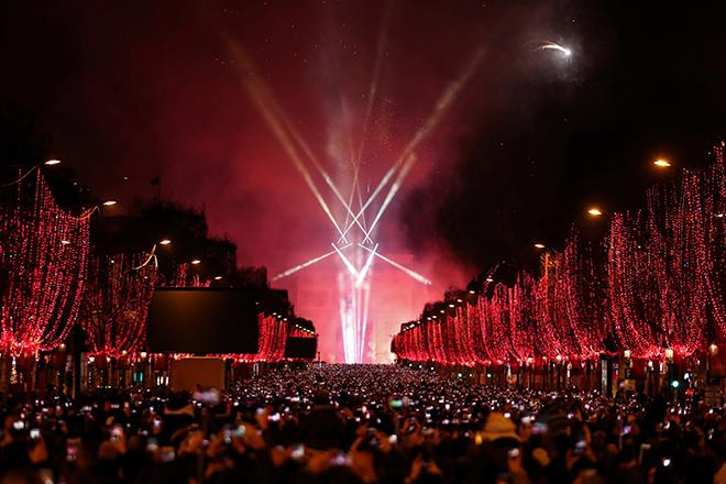 Thế giới đón mừng năm mới 2019