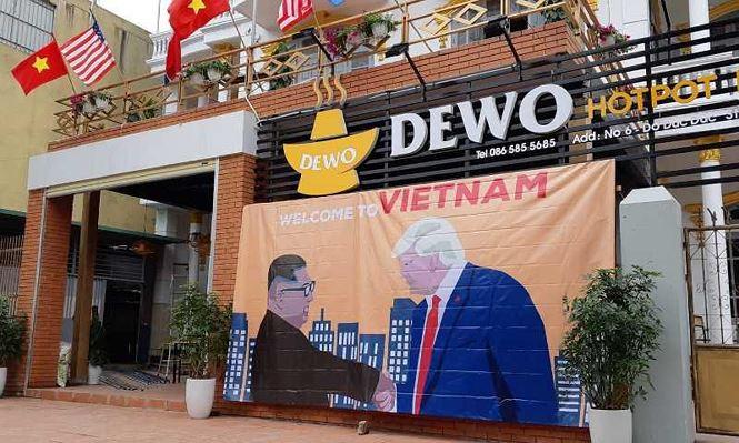 Muôn kiểu kinh doanh 'ăn theo' Hội nghị thượng đỉnh Mỹ - Triều