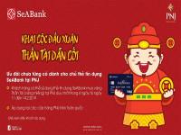SeABank với chương trình ưu đãi ngày Vía Thần Tài - Xuân Kỷ Hợi