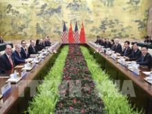 Trung Quốc và Mỹ bước vào vòng đàm phán thương mại nhiều khó khăn