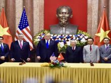 Hai hợp đồng tỷ đô được ký kết nhân dịp Tổng thống Donald Trump sang Việt Nam