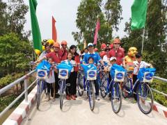 Phuc Khang Corporation & CLB Doanh Nhân Sài Gòn: Bàn giao cầu Cả Điểm cho người dân Đồng Tháp