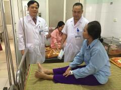 Tán sỏi mật qua da bằng laser giúp bảo tồn túi mật  tại Bệnh viện Đa khoa tỉnh Thanh Hóa