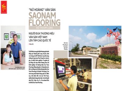 Nữ hoàng ván sàn Sao Nam Flooring: Người đưa thương hiệu ván sàn Việt Nam lên tầm cao quốc tế