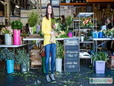 Câu chuyện ý tưởng khởi nghiệp từ bán hoa kiếm triệu USD của cô gái Mỹ