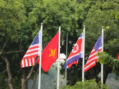 Hà Nội rợp cờ hoa chào đón Hội nghị thượng đỉnh Mỹ - Triều Tiên