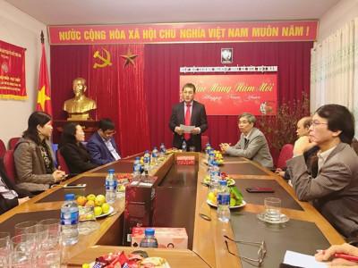 Lãnh đạo Vinasme gặp mặt đầu xuân Kỷ Hợi 2019
