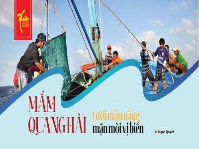Mắm Quang Hải - tươi màu nắng, mặn mòi vị biển