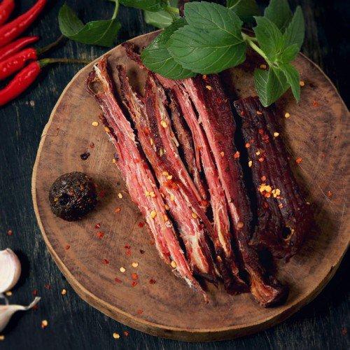 Thịt trâu gác bếp thương hiệu PK