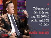 CEO khởi nghiệp tuổi 50 và lời hứa đầu tư 1 triệu USD của Shark Việt