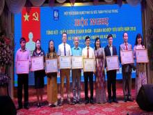 Hiệp hội DNNVV Hải Phòng tổ chức hội nghị tổng kết hoạt động năm 2018