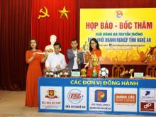 Họp báo tổ chức Giải Bóng đá Đoàn khối Doanh nghiệp tỉnh Nghệ An lần thứ XVI, năm 2019