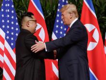 Hậu họp báo Triều Tiên, Tổng thống Trump phát biểu