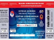 Giá vé xem U23 Việt Nam đá vòng loại châu Á 2020 cao nhất 300.000 đồng