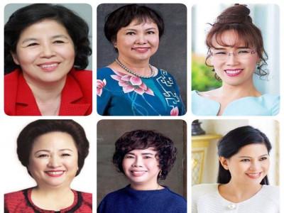 Chân dung những 'nữ tướng' doanh nhân ảnh hưởng nhất Việt Nam 2019