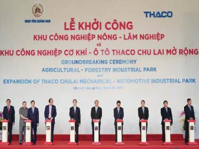 THACO khởi công loạt dự án trọng điểm Công - Nông - Lâm nghiệp tại Chu Lai