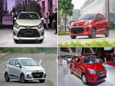 Xe Hàn, xe Nhật độc chiếm phân khúc xe đô thị