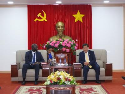 Ông Trần Thanh Liêm – Chủ tịch UBND tỉnh Bình Dương quan tâm hàng đầu vể bảo vệ môi trường