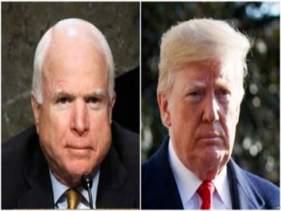 Trump: Tôi chưa từng và sẽ không bao giờ hâm mộ John McCain
